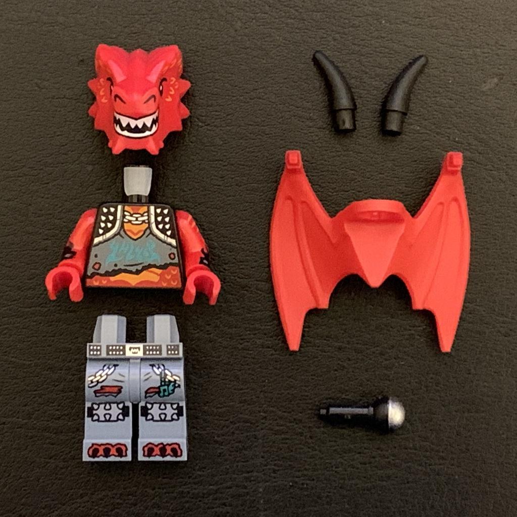 「樂高 軍團」LEGO VIDIYO Beatbox 43109 金屬飛龍 歌手 Metal Dragon VID019