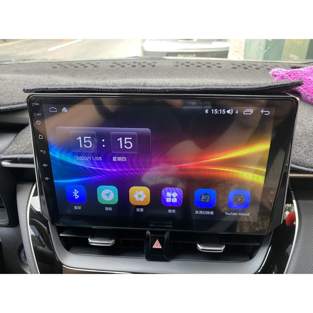 安卓車機 UIS7862 八核心 3G +32G  10吋  安卓10 (含前後行車紀錄器)