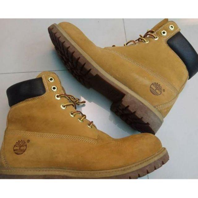 正版 Timberland 經典黃靴