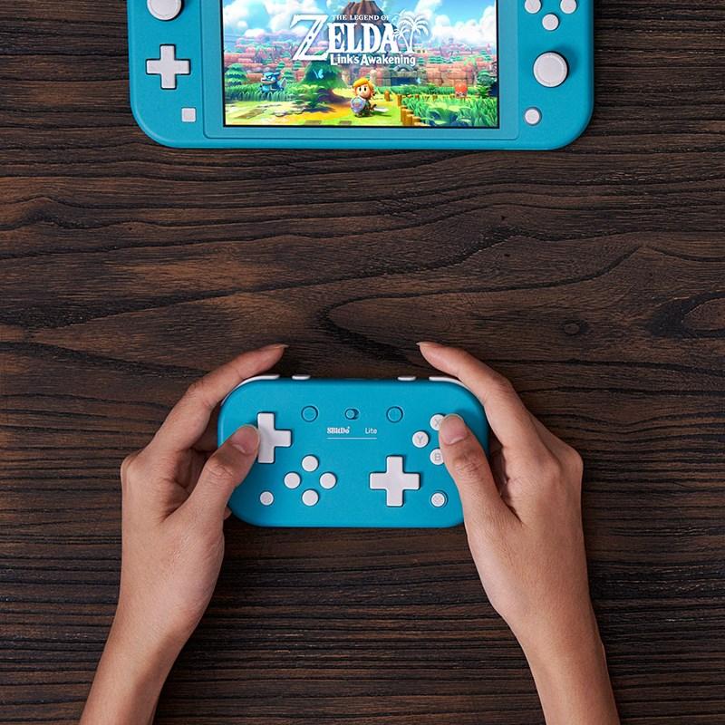 8Bitdo遊戲堂Switch便攜國產電腦PC手柄動森電腦八位限定NS無線小
