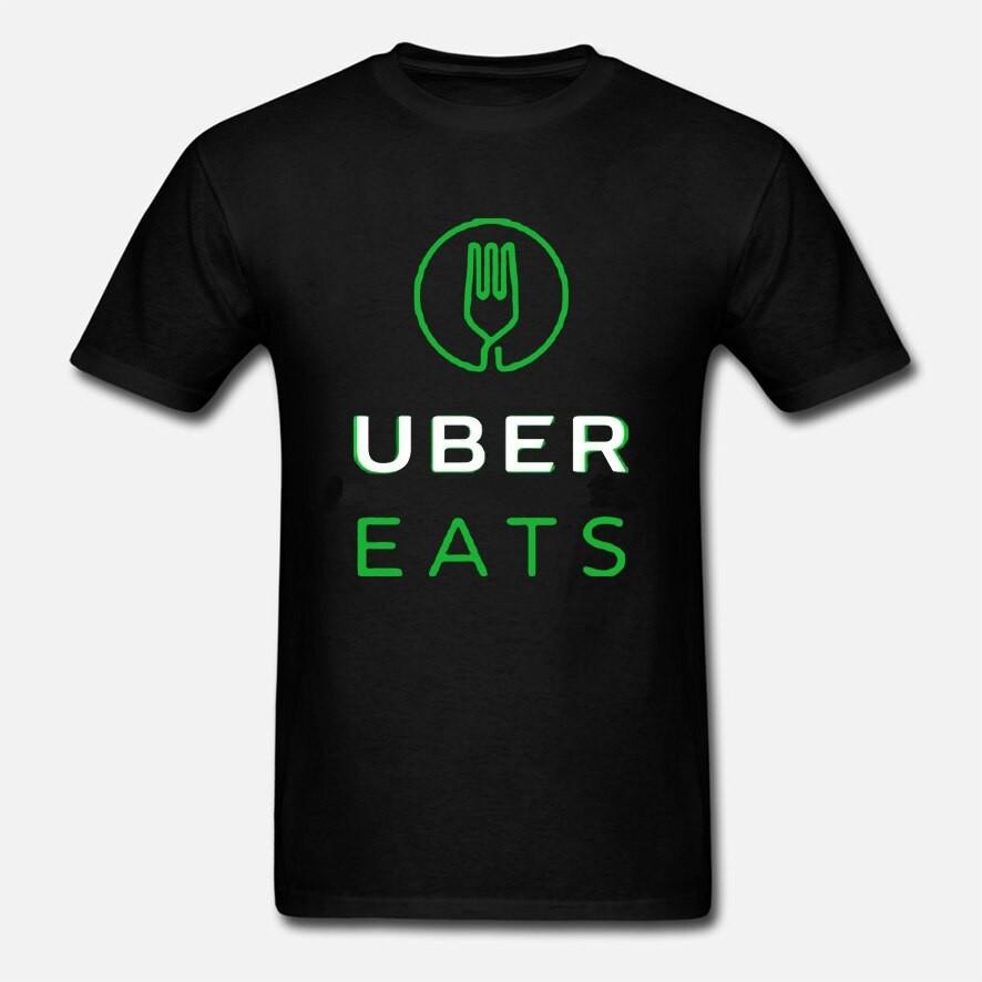 【現貨】New Eats在線司機Uber Logo男士T卹T卹