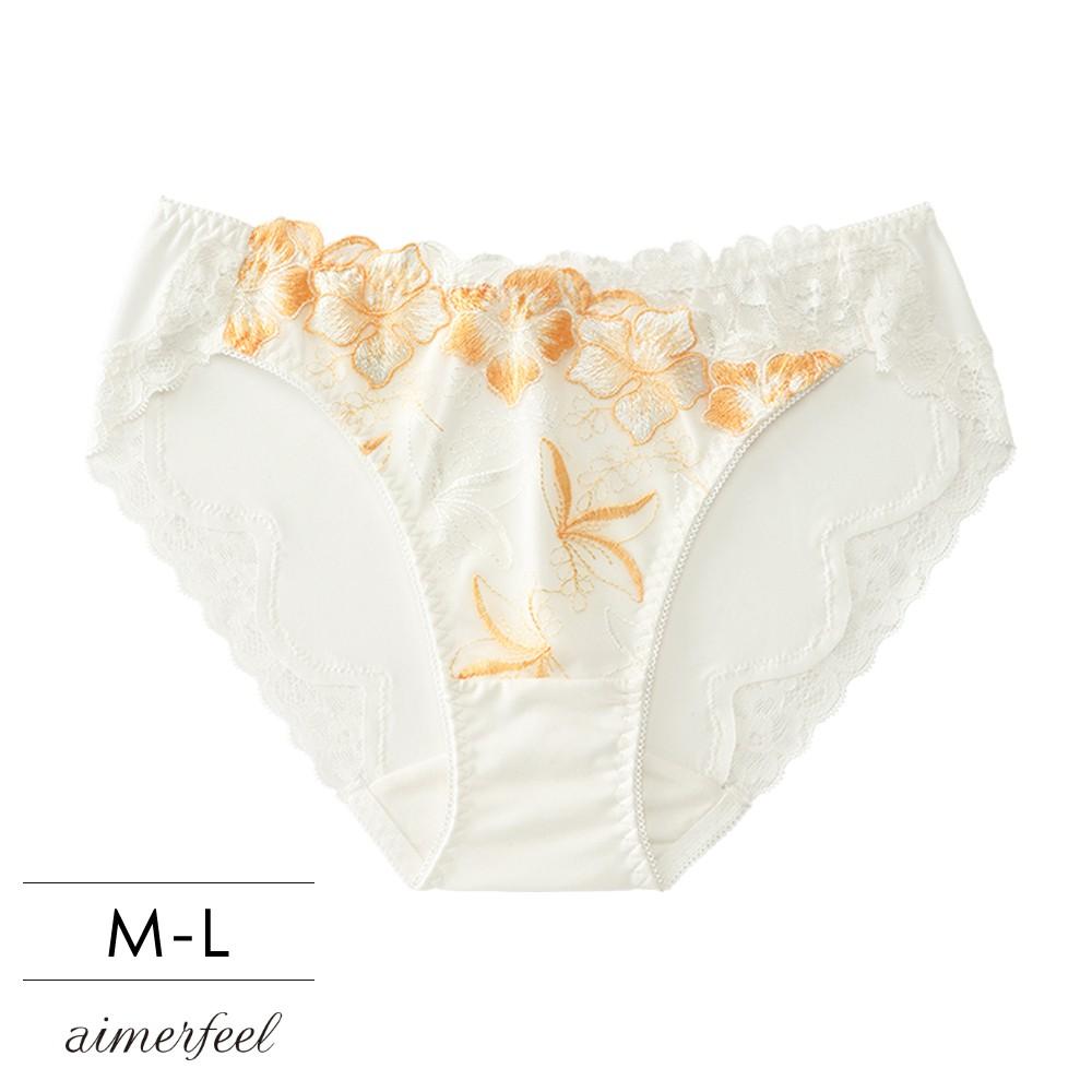 單品內褲Douxfleur甜美小花三角褲單品內褲-橘色-605221-OR