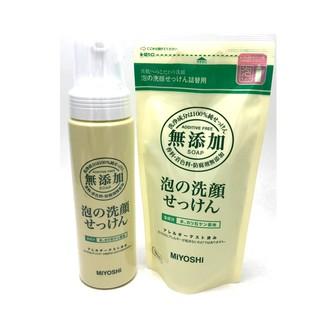 日本 MiYOSHi 無添加 泡沫洗面乳洗顏乳 新竹縣