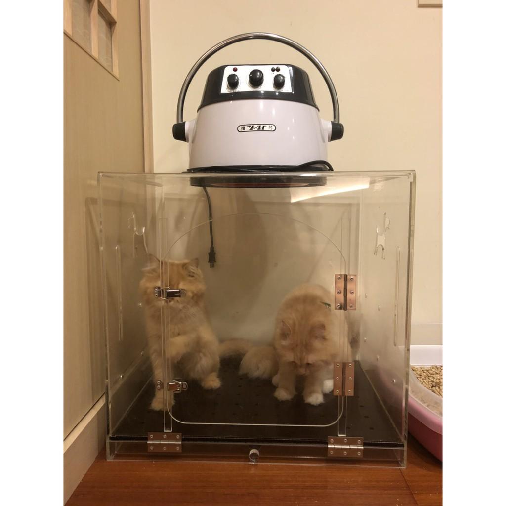 二手/鴻鷹專業寵物烘箱專業寵物烘箱 + 雅芳負離子冷熱多功能寵物烘毛機 /中小型犬貓適用