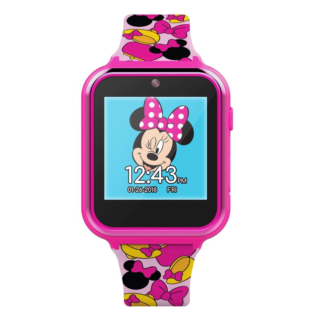 C❤️正版❤️美國迪士尼 DISNEY MINNIE 米妮 錄音 錄影 遊戲 智能手錶 手錶 觸控螢幕 智慧手錶