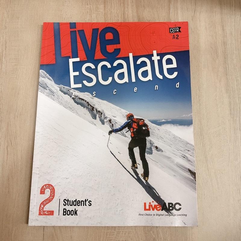 【二手】 Live Escalate 2《Live ABC》🌱