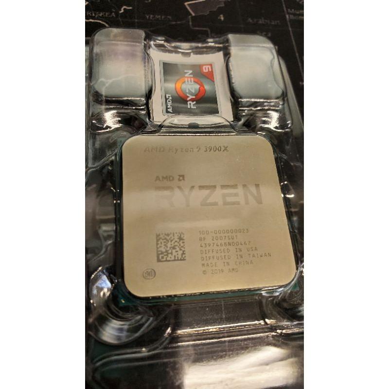R9 3900X R9-3900X Ryzen AMD 二手散片 12核24緒(可寄送)