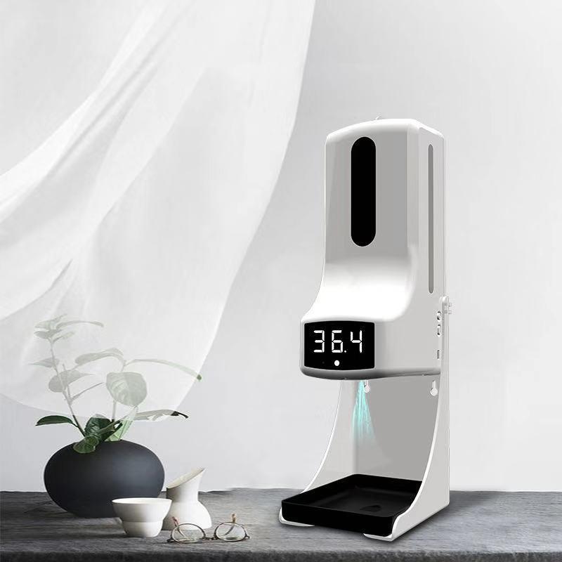 工廠K9PRO/K3Pro測溫儀 免洗消毒 掛壁 紅外感應 語音播報自動皂液器32