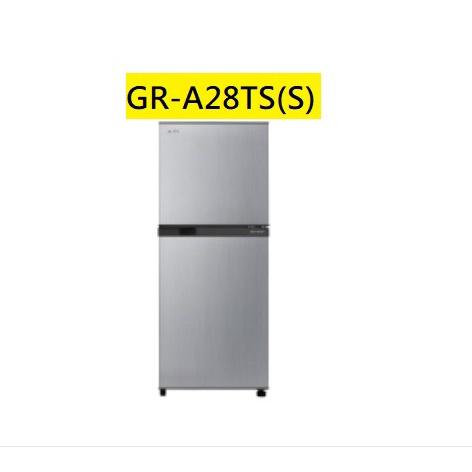 【胖胖3C】TOSHIBA 東芝 231公升一級能效變頻電冰箱GR-A25TS(S)