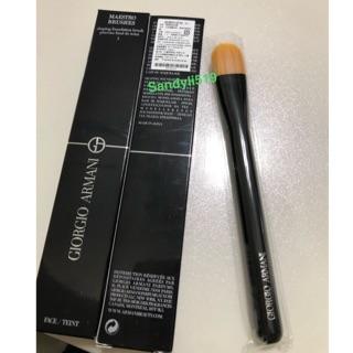 Giorgio Armani 🔥GA 亞曼尼 塑顏粉底刷 #5 全新 盒裝 全長約17cm 毛刷約2.5cm