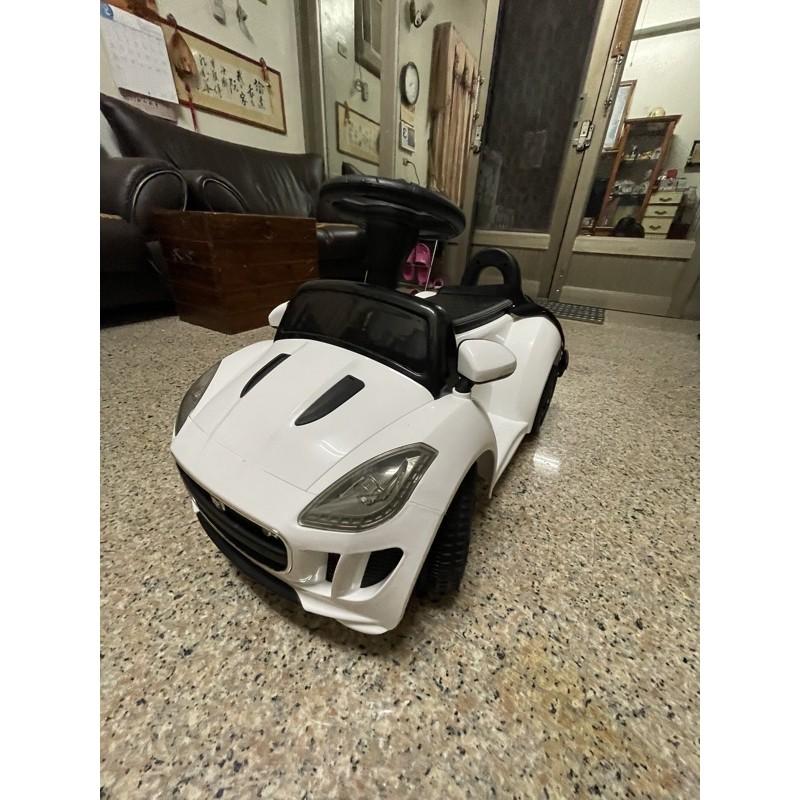二手9.9成新正版Jaguar 兒童電動車
