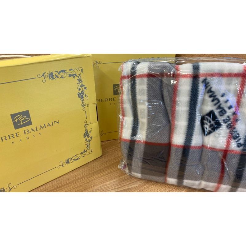 原價$500 有兩件便宜賣 Pierre Balmain毛毯 冷氣毯 新生兒 滿月禮 年節禮物