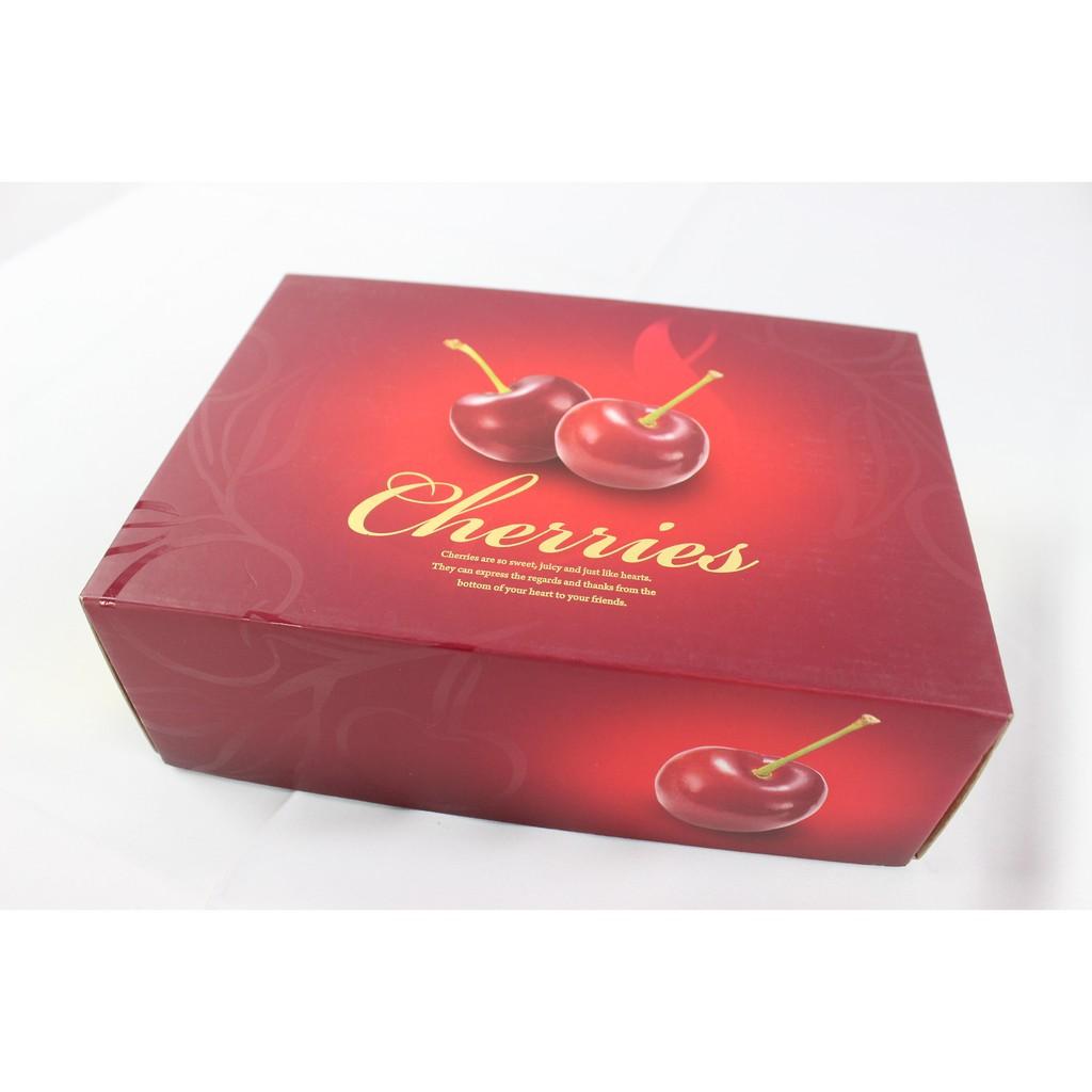#櫻桃禮盒# 2公斤櫻桃禮盒 1公斤/2公斤燙金櫻桃禮盒 (一組10個) 另售提袋