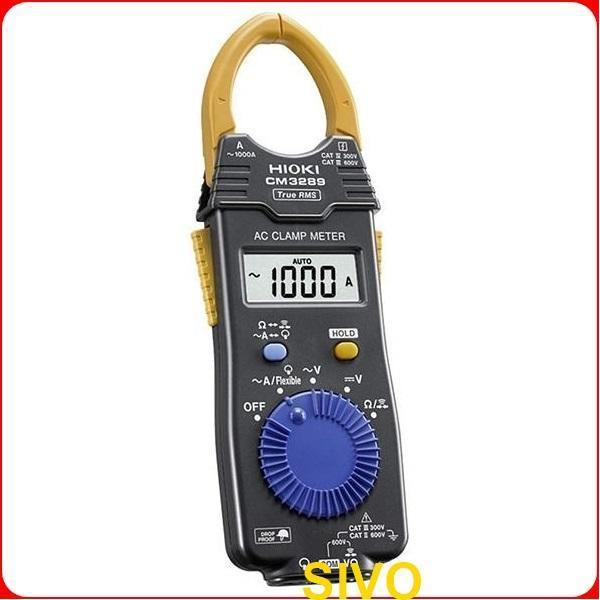 日本HIOKI CM3289 AC電流鉤錶1000A(True RMS)真有效值勾表