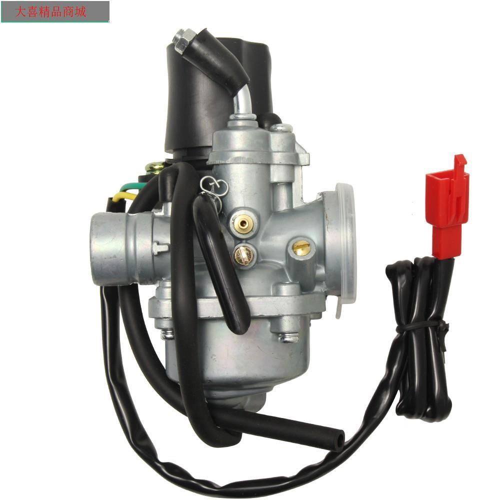 化油器Jog 50 勁風50~100cc-VINO50 兜風 2衝程ATV雅馬哈摩托車配件