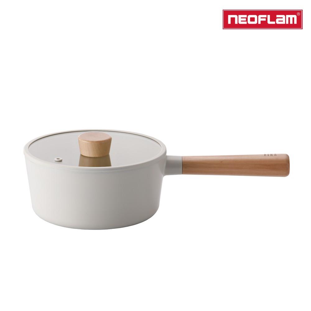 NEOFLAM FIKA系列 18cm 鑄造不沾單柄湯鍋(IH、電磁爐適用) 2020全新系列上市