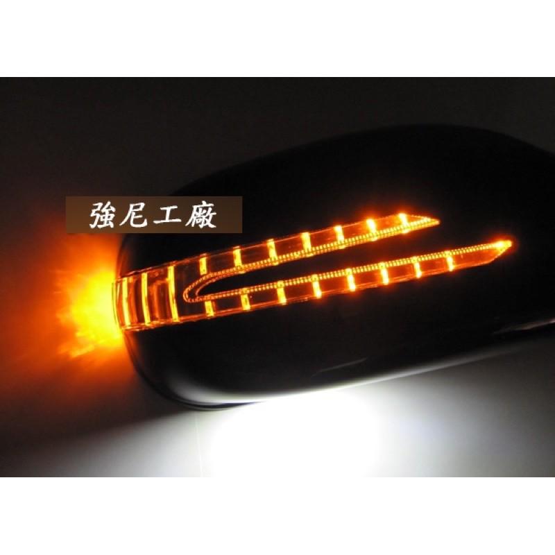 全新 賓士 BENZ W208 CLK R170 SLK A168 LED 箭失型 照地燈 後視鏡蓋 含烤漆