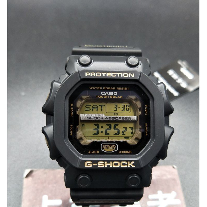 CASIO 卡西歐 GSHOCK 限量 手表 光能 巨G七福神 GX-56 大黑天 GX-56SLG-1A