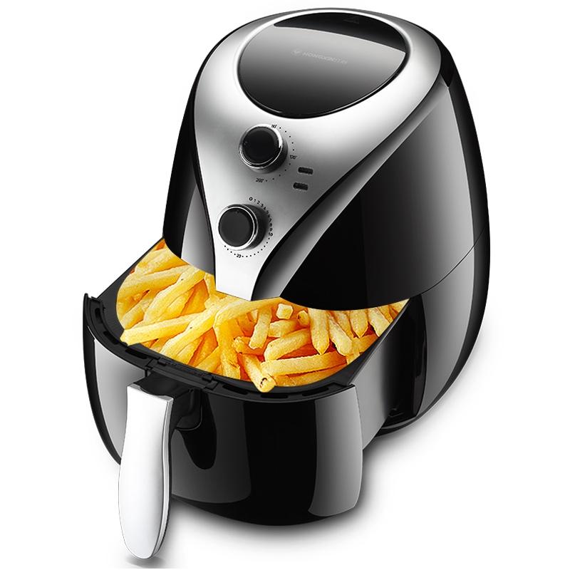 【現貨热卖】紅心空氣炸鍋家用多功能智能薯條機全自動大容量無油空氣電炸鍋
