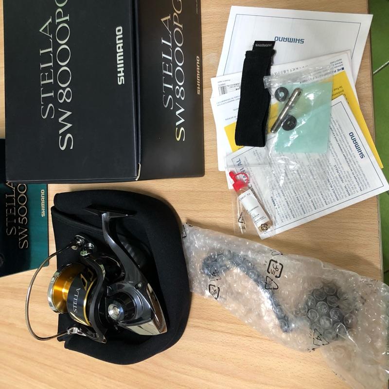 Shimano stella 8000PG 美品13年黑寶!鐵板卷線器