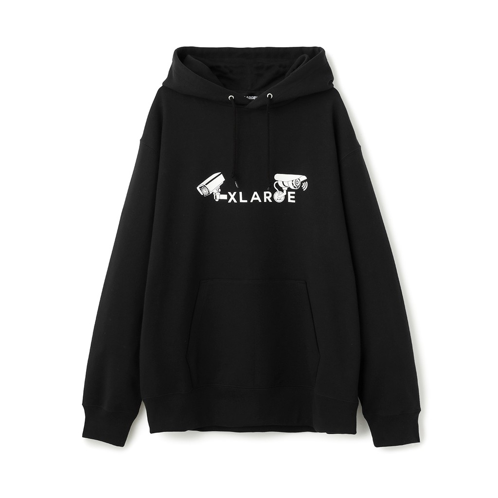 XLARGE VIDEO PULLOVER HOODED SWEAT 攝影機帽T 01184207