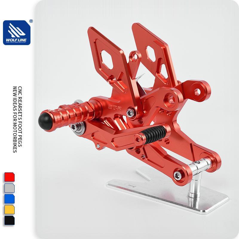 適用于HONDA CB500F CBR500R 15-16 升高腳踏 前腳踏總成 支架