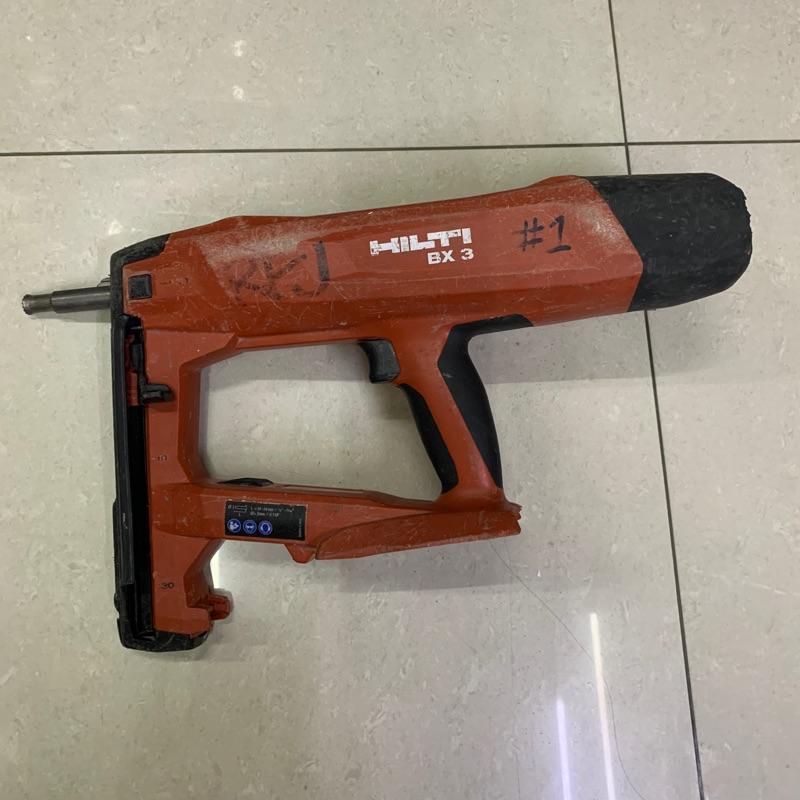 二手外匯 喜利得bx3 A22 電動釘槍  HILTI BX3 電動釘槍 22V
