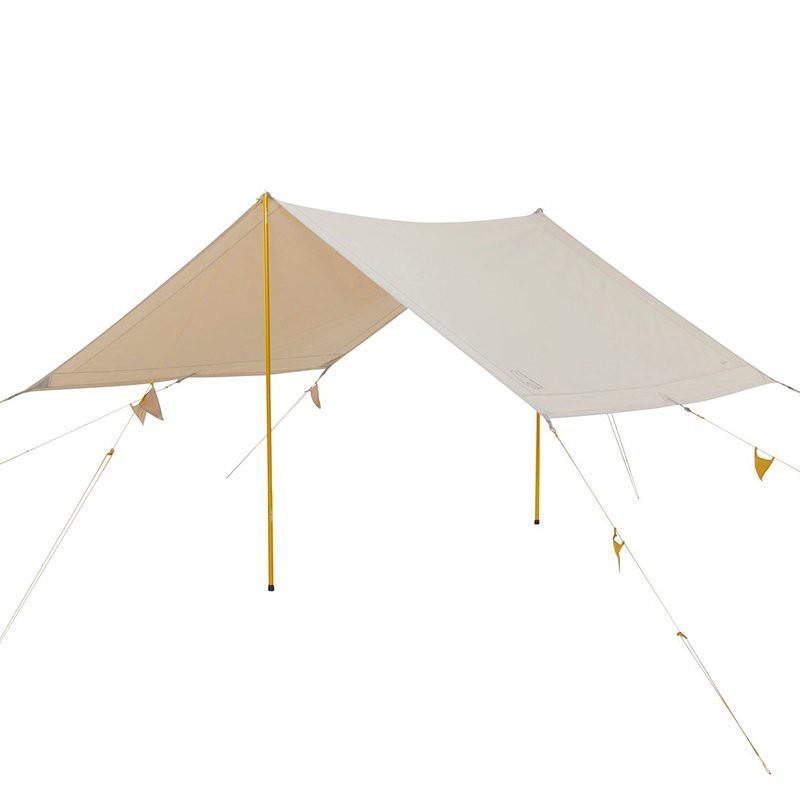 【野營】NORDISK 大白熊 帳篷 戶外 天幕 Kari 20 12 Tarp 白色棉布方形