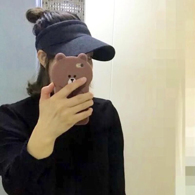 [Uliui + Wardrobe] 正韓 新款 遮陽帽 棒球帽 空頂帽 造型帽 共五色 (現+預)