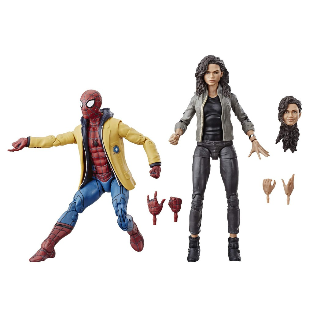 正版現貨 Marvel Legends 電影版 蜘蛛人返校日 校服蜘蛛人&MJ雙人包
