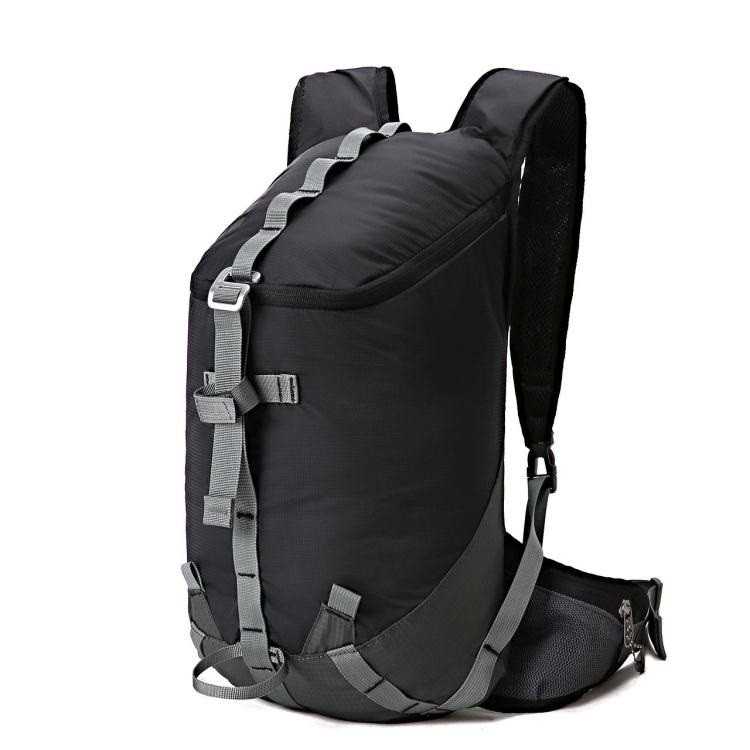 戶外雙肩包 16L男女耐磨輕便背包出游登山徒步