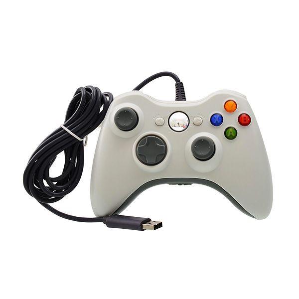XBOX360 主機專用 PC可用 副廠控制器 PC可用 有線手把 黑色款 【魔力電玩】