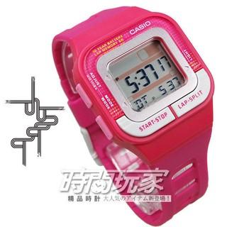 電子錶 CASIO卡西歐SDB-100-4A 慢跑電子錶 桃粉紅色 女錶 女性專屬慢跑專用運動錶【時間玩家】 新北市