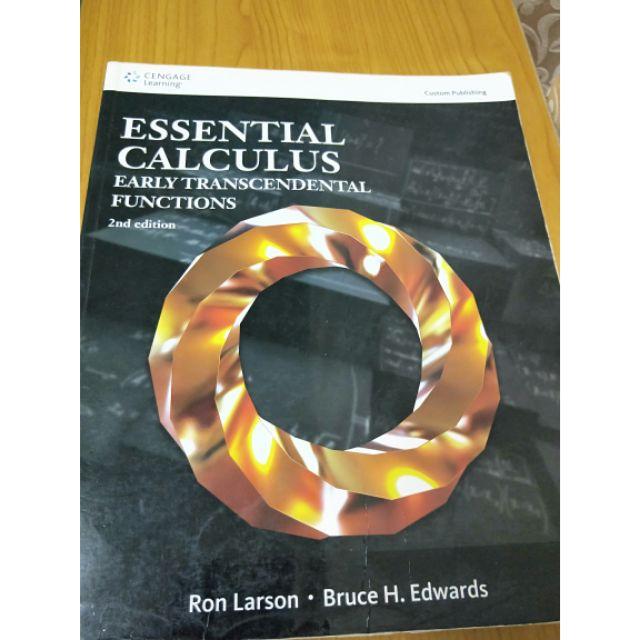 微積分原文書  Essential Calculus      2nd edition