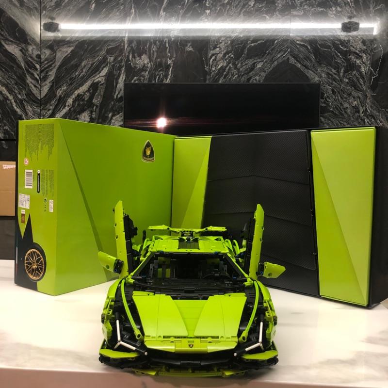 安裝完畢 現貨 LEGO 樂高 42115 藍寶堅尼 Lamborghini Sián