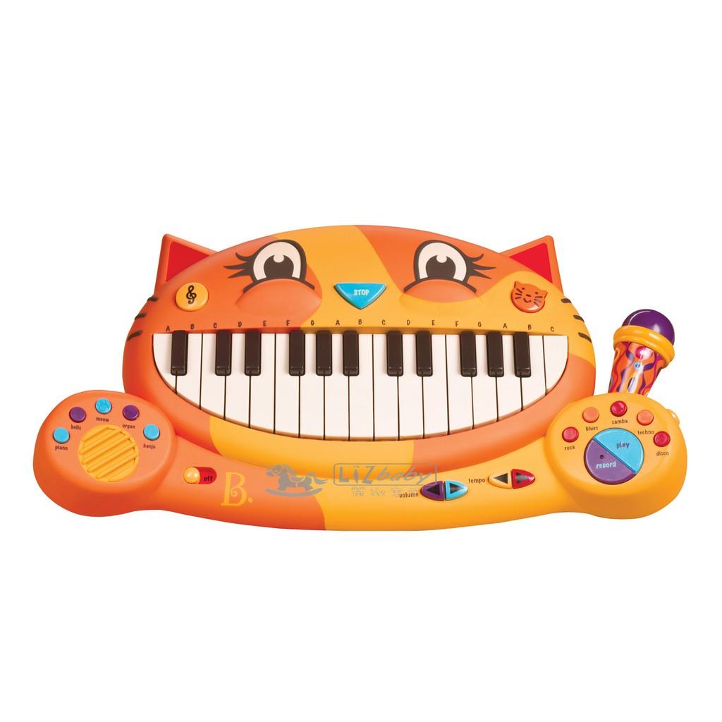 美國【B.Toys】大嘴貓鋼琴