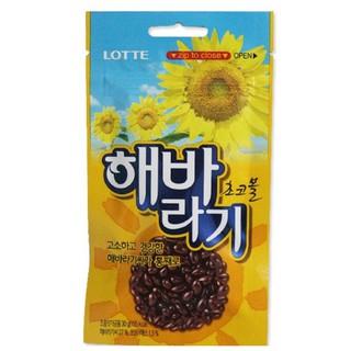 [丁師傅] 韓國樂天LOTTE 向日葵巧克力 葵花子巧克力 巧克力米 30g 巧克力 桃園市