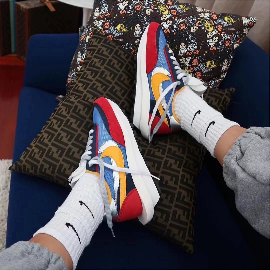 Nike x Sacai LVD 聯名 Sacai Blazer 紅藍 黃綠 黑 灰白藍 現貨