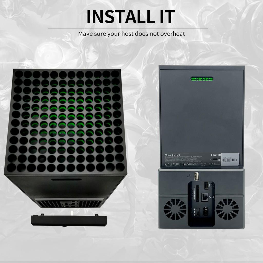 【台灣現貨-爆款】私模Xbox Series X遊戲主機後置風扇 散熱風扇 xbox series x配件