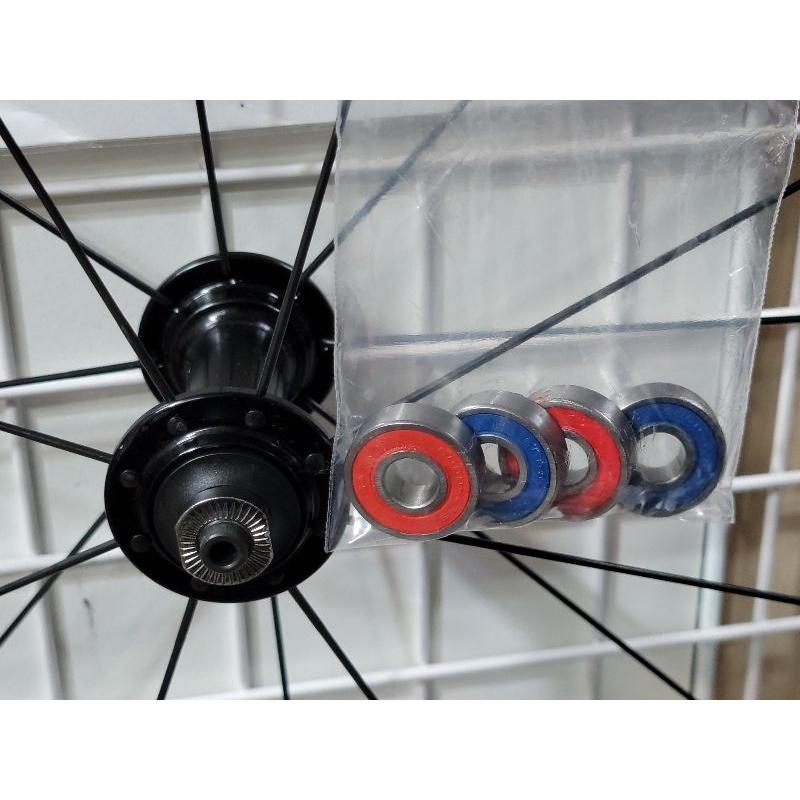 GIANT PR2 輪組改Tripeak陶瓷培林4顆,GIANT全系列輪組都可改,改完速度提升100%,又順又滑又快又溜