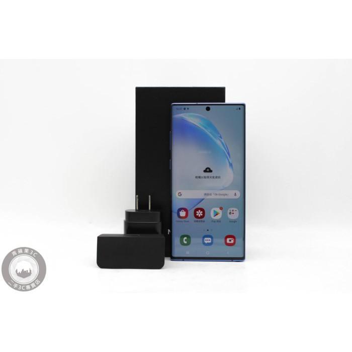 【高雄青蘋果3C】SAMSUNG GALAXY NOTE10+ 藍 SM-N9750 256G 6.8吋 #48995