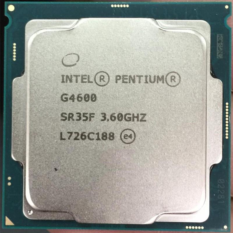 Cpu Intel G3900 G3930 G4400 G4560 G4600 G4900 G5400 G3900T G