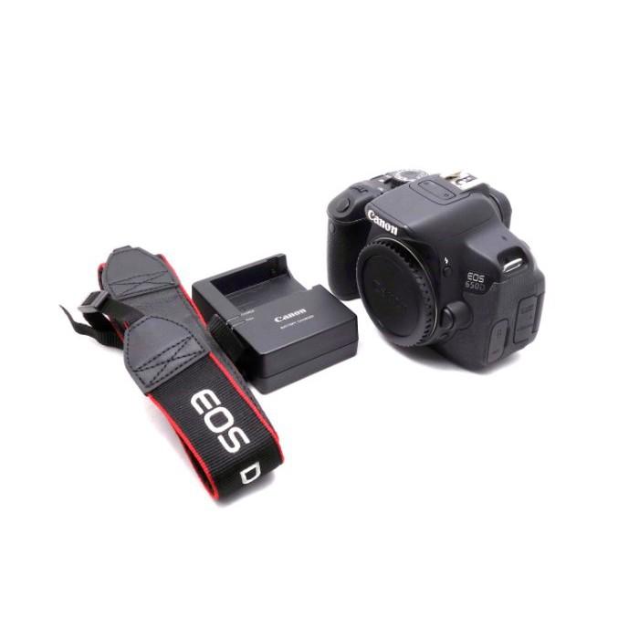 【台中二手Canon650D單眼相機】Canon EOS 650D 單機身  快門次數約5391 #25687