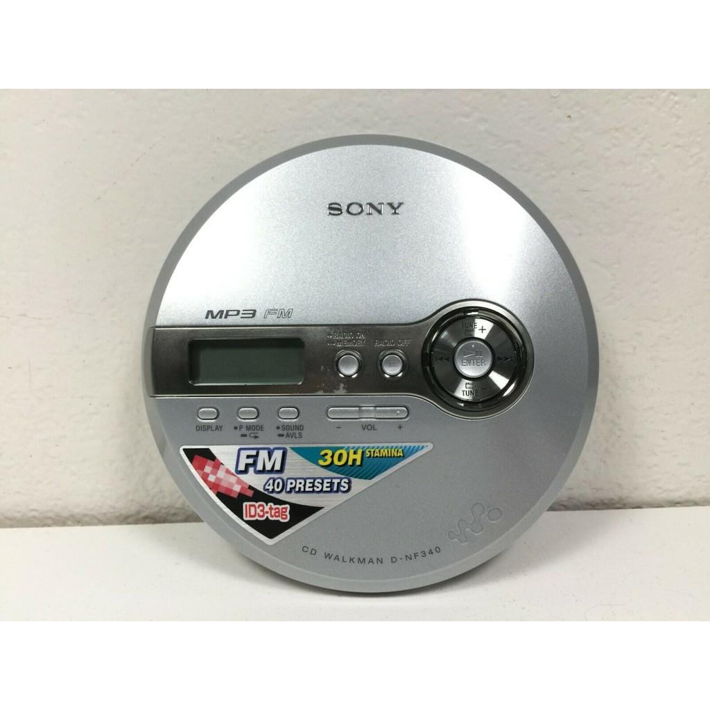 2手商品 Sony 播放器 Walkman D-NF340 CD Player MP3 FM Radio