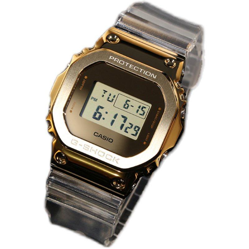 【白敬亭同款】新款卡西歐冰川金手錶G-SHOCK GM-110SG-9A 5600SG