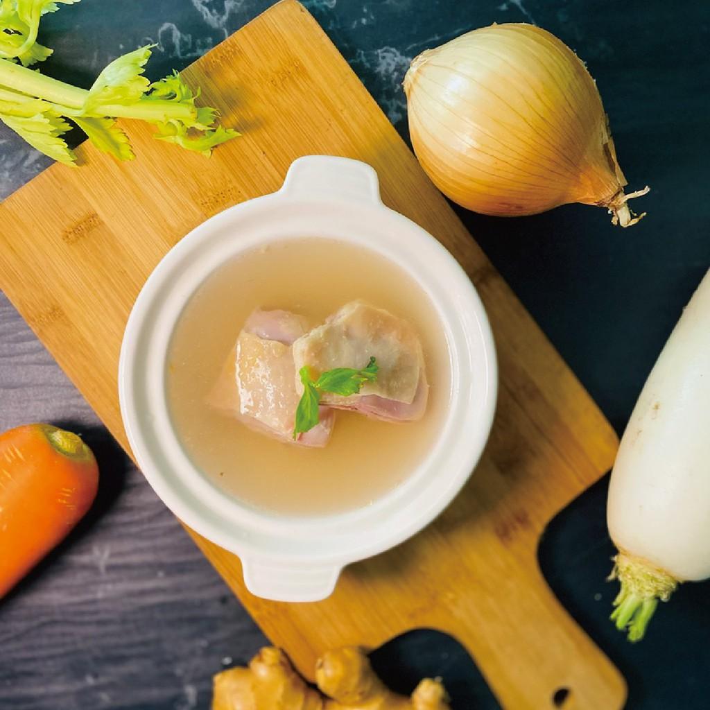 【炸去啃】慢熬雞湯系列-蔬菜雞湯(小包裝450g)