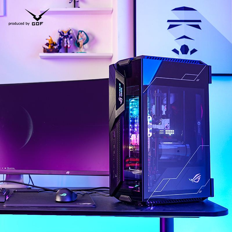 【台灣 現貨】華碩ROG全家桶ITX水冷電腦遊戲主機11700k/10900k/11900k/RTX3070/3080T