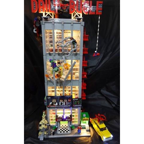 [想樂]『LED燈組(不含盒組)』樂高 燈組 Lego Light 76178 號角日報大樓 (預購)
