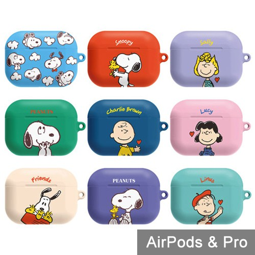 AirPods Pro 保護殼│Snoopy 史努比│硬殼 保護套│z8749-1