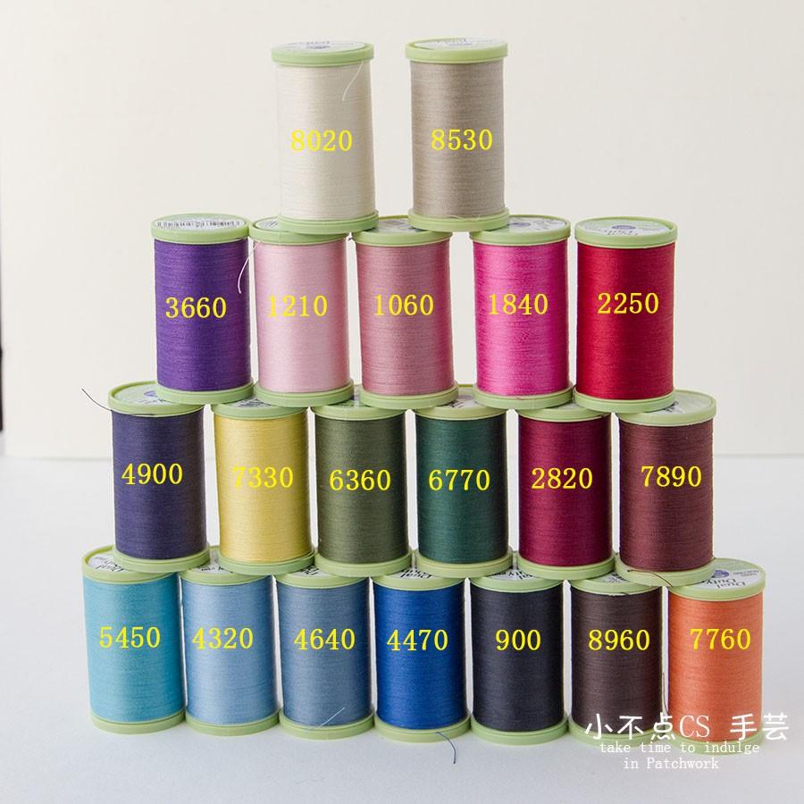 31GG CLARK 手縫壓線縫紉 325碼拼布專用線 進口 DIY美國COATS